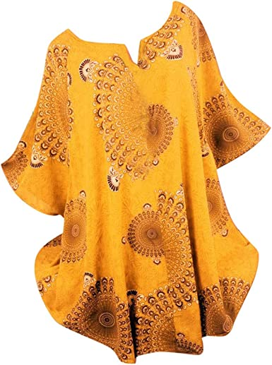AMhomely - Blusa informal para mujer, talla grande, manga de ...