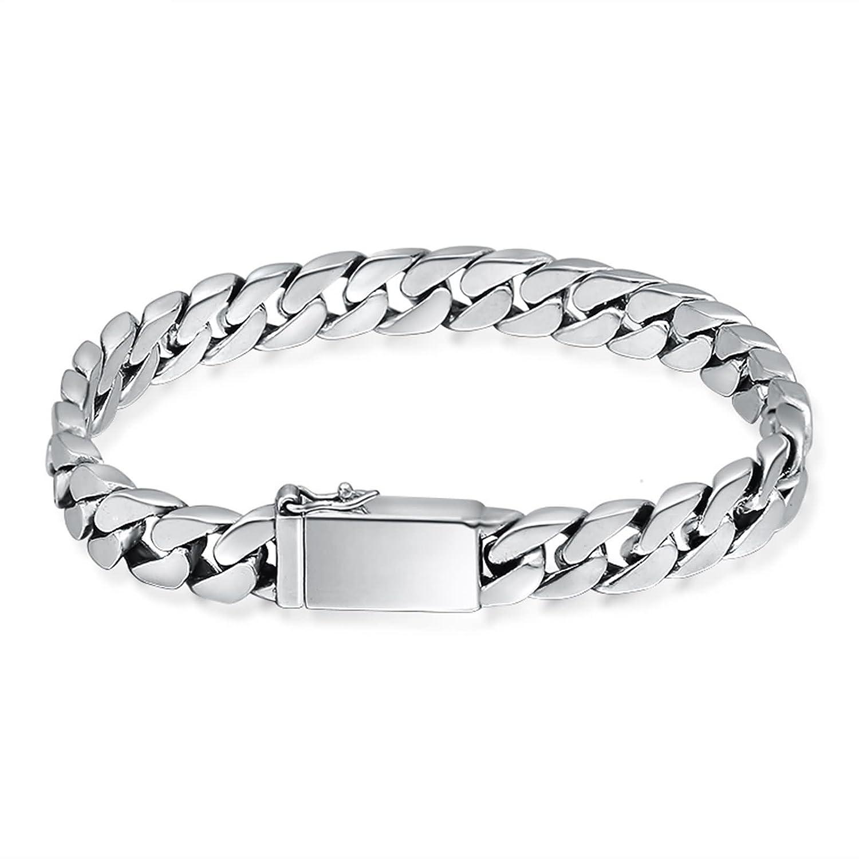 Epinki 925 Sterling Silver Bracelet Men Chain Bracelet ZGFOEPWKD105T719