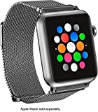 Magnetic Stainless Steel Mesh Band for Apple Watch 42mm - Silver