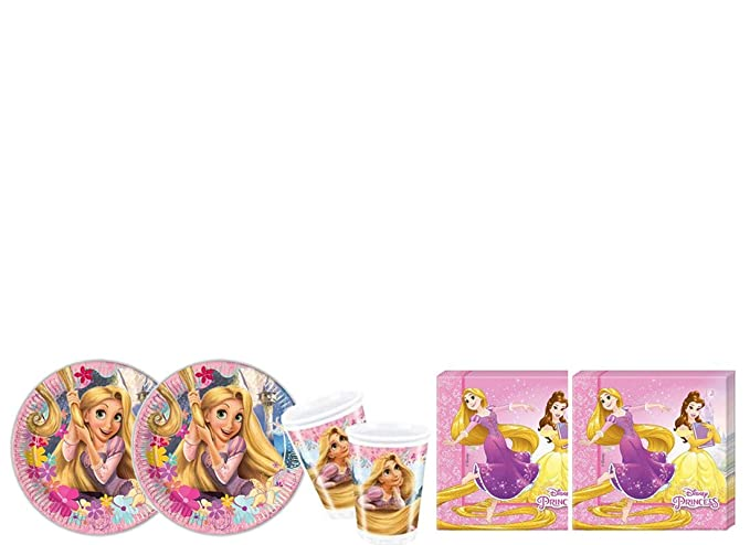 Irpot Kit - A Fiesta De Cumpleaños De Rapunzel: Amazon.es ...