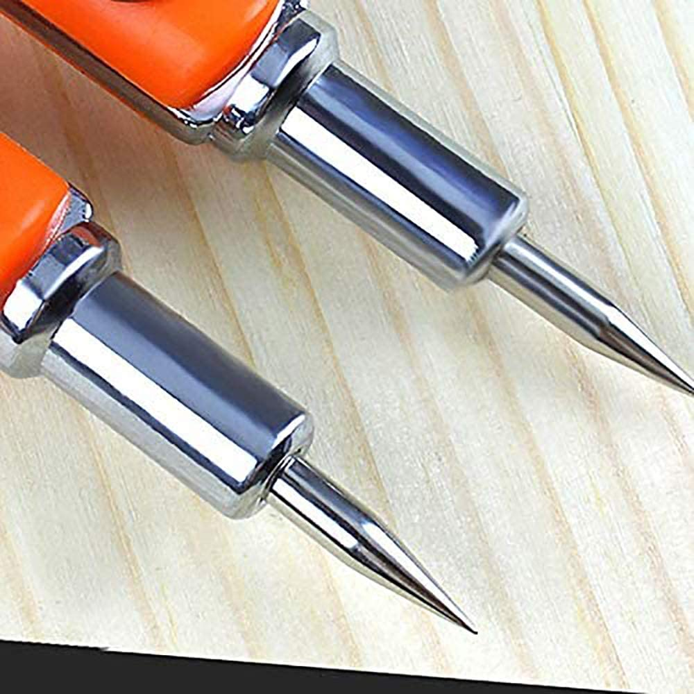 POFET Crayon de pr/écision pour menuisier de grande taille avec intercalaires r/églables de grand diam/ètre pour le marquage et le marquage pour le travail du bois