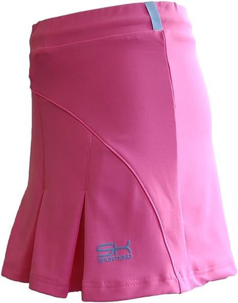 Sportkind – Falda plisada con braga integrado (Minifalda) de tenis ...