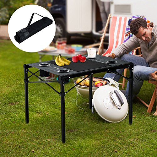 Folding Table Aluminum Portable Picnic Party Dining Camp Foldable Tables Outdoor by Unknown