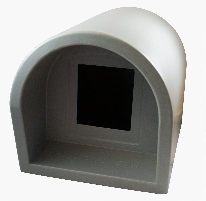 Mr Snugs KatDen Outdoor Cat Kennel Shelter Light Grey (Various Options) Kennel Only