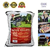 Z GRILLS BBQ Wood Pellet for Grilling OAK pellets,20LB Per Bag by famous Z GRILLS