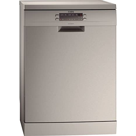 AEG F65000M0P lavavajilla - Lavavajillas (Acero inoxidable ...