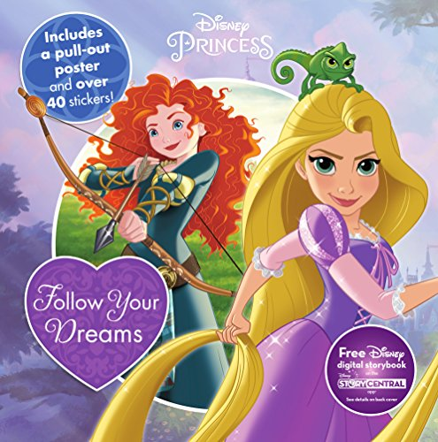 Disney Princess Follow Your Dreams (8 X 8 Activity & Sticker Book)