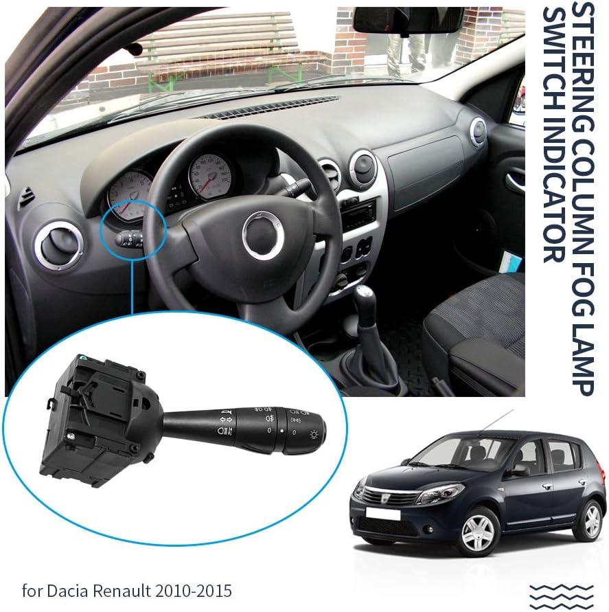 Lenkblinker Stalk Schalter 8201167988 Schalter Kontrollleuchte Lenks/äule Blinker Schalter f/ür Renault Dacia//Logan 2012-2016