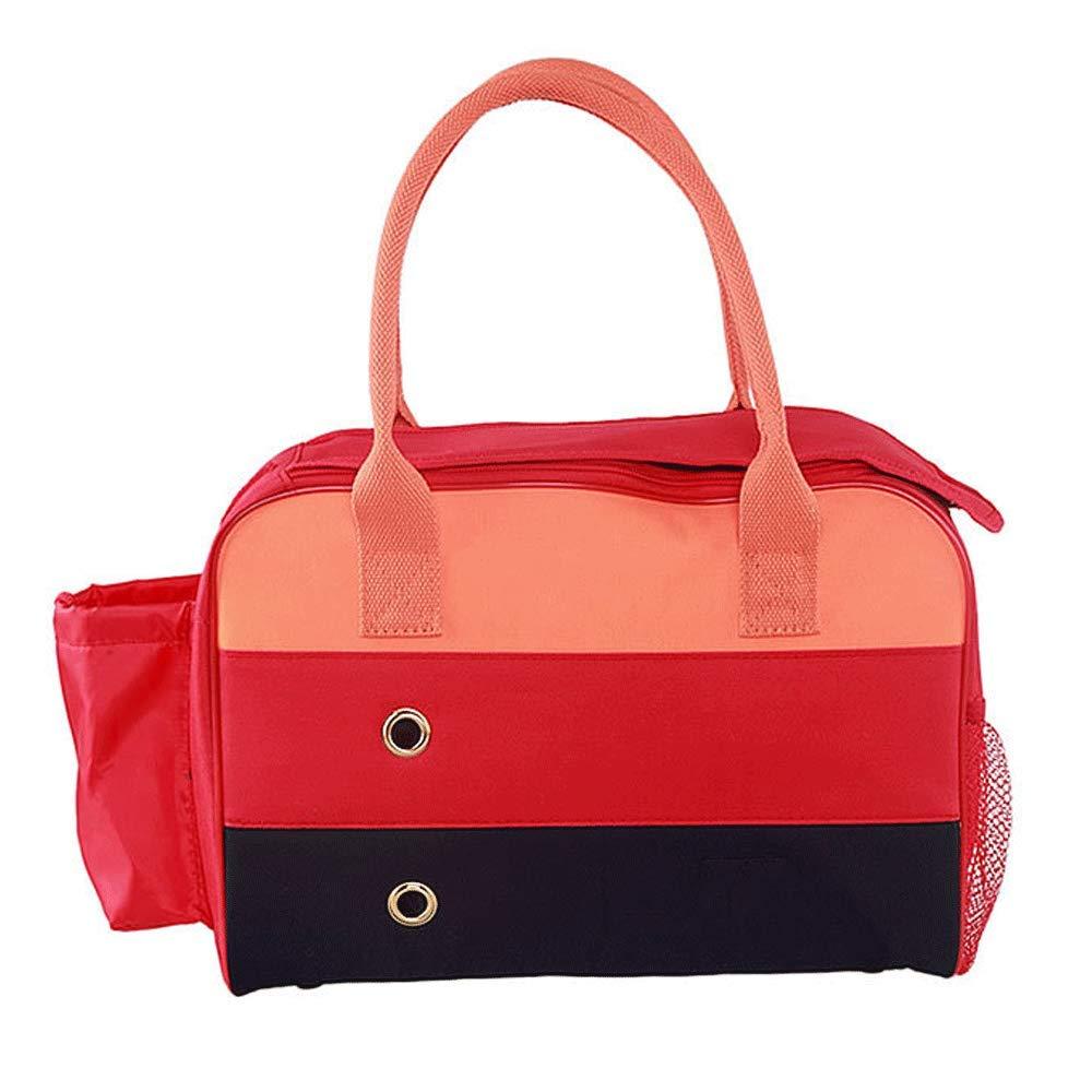 M YONGYONG Pet Out Carrying Bag Pet Box Dog Bag Cat Bag Pet Bag Shoulder Bag (Size   M)