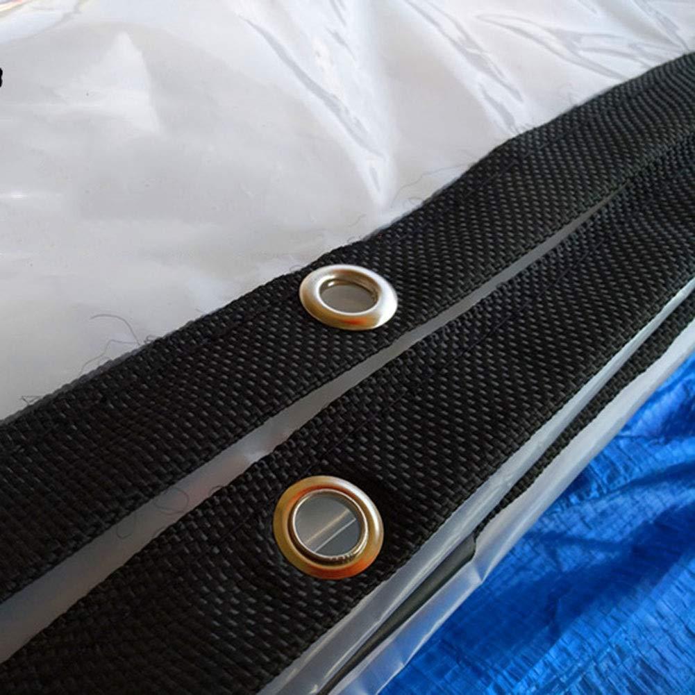 45m HCYTPL BÂche Transparente de Tente de remorque de Camping de Couverture de Pluie de Toit de Bateau de Voiture antipoussière résistante à la Pluie - 120G   M2,4  5m