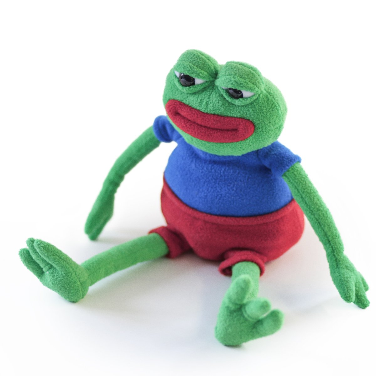 Anatomically Correct The Official Plush Doll Hashtag Collectibles Pepe The Frog