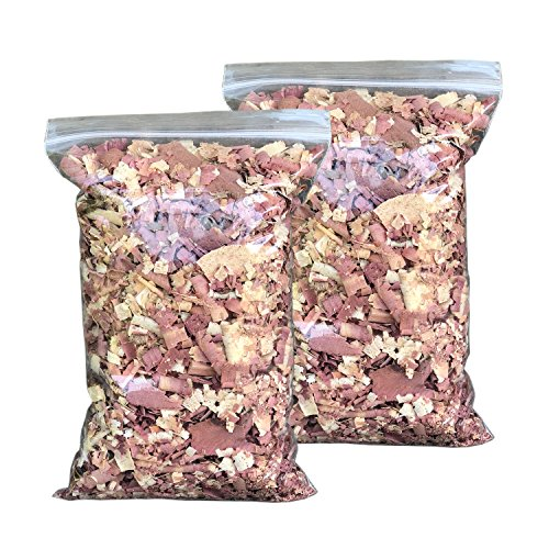 - Vundahboah Amish Goods Cedar Wood Mulch Chips Shavings for Garden- Screech Owl House/Box- Organic Bedding (3 Quart (.75 Gallon))