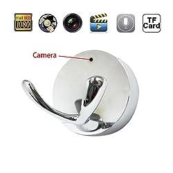 Mengshen HD 1080P Wide-angle Lens Clothes Hook Design