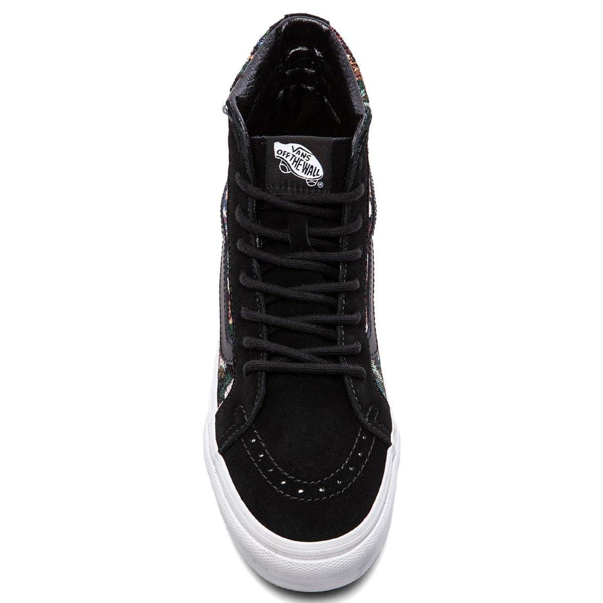 0093b9bfa3 Vans - Unisex Sk8-Hi Slim Shoes in (Tapestry Floral) Black