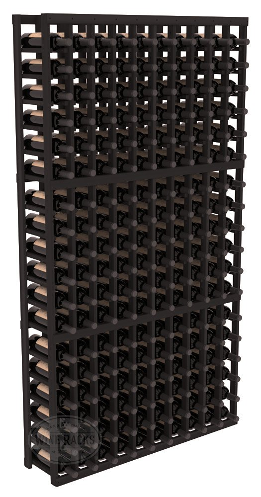 Wine Racks America Redwood 10 Column Wine Cellar Kit. 13 Stains to Choose From! by Wine Racks America