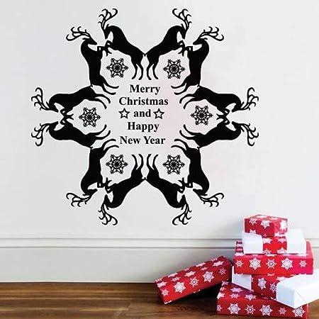 woyaofal Calcomanías de Pared de Navidad de diseño Especial ...