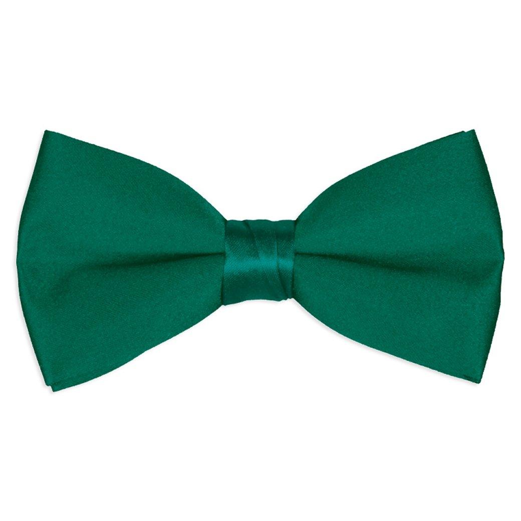 Boy's Solid Color Satin Bow Ties / Bowties