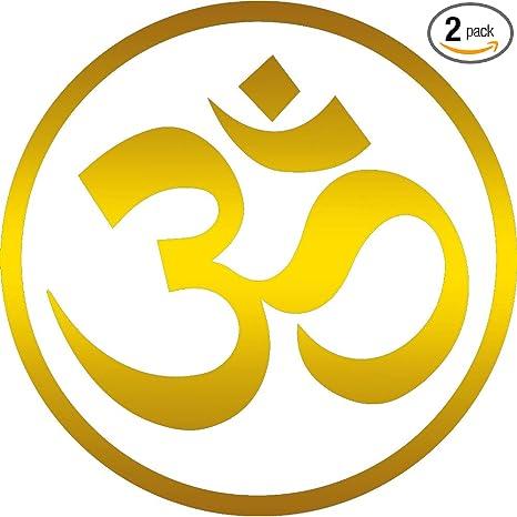 Amazon.com: angdest Yoga Om Aum (juego de 2) Premium ...