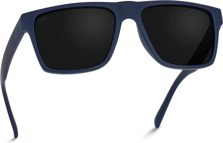 WearMe Pro Polarized Flat Top Square Men Sunglasses
