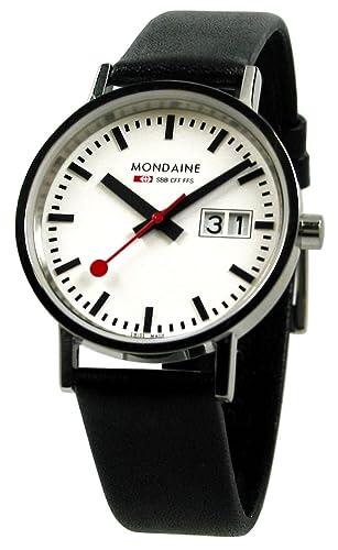 Original diseño de pulsera para mujer MONDAINE colour original de la estación de tren de reloj suizo MONDAINE - Classic 33 millimeter - A669, 30008, ...