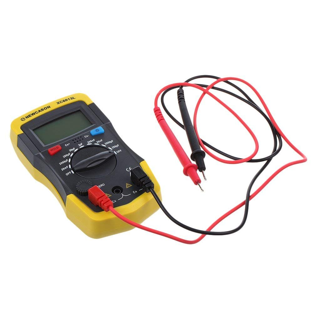 Lcd Digital Meter Xc6013l Capacitance Capacitor Tester Mf Uf Circuit Analog Test Special Measurements Show Gauge