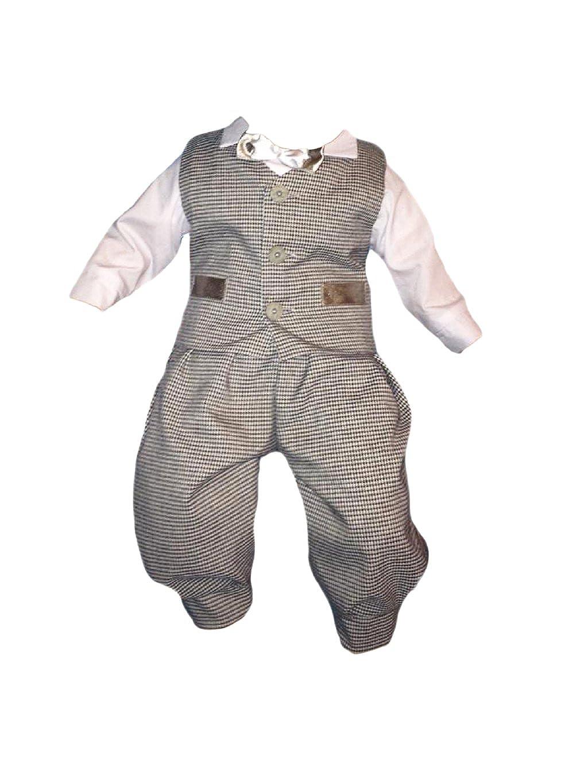 Taufanzug Festanzug Jungenanzug Baby Junge Kinder Hochzeit Anzüge,5tlg, G6