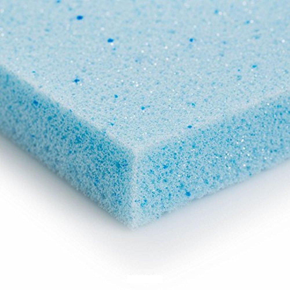FoamRush 4''x 30'' x 30'' Gel Cooling Memory Square Foam Made in USA. by FoamRush (Image #3)