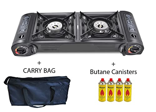 Bright Spark Toaster ~ Portable gas stove cooker burners camping outdoor bbq