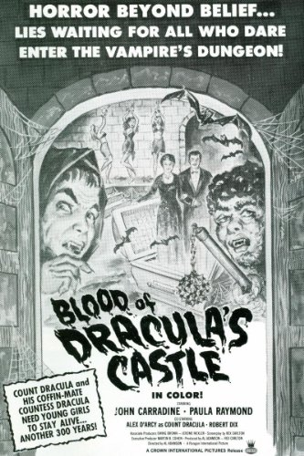 (Blood Of Dracula's Castle )