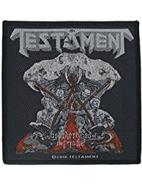 Testament Brotherhood of the Snake Patch Thrash Metal Band Woven Sew On Applique