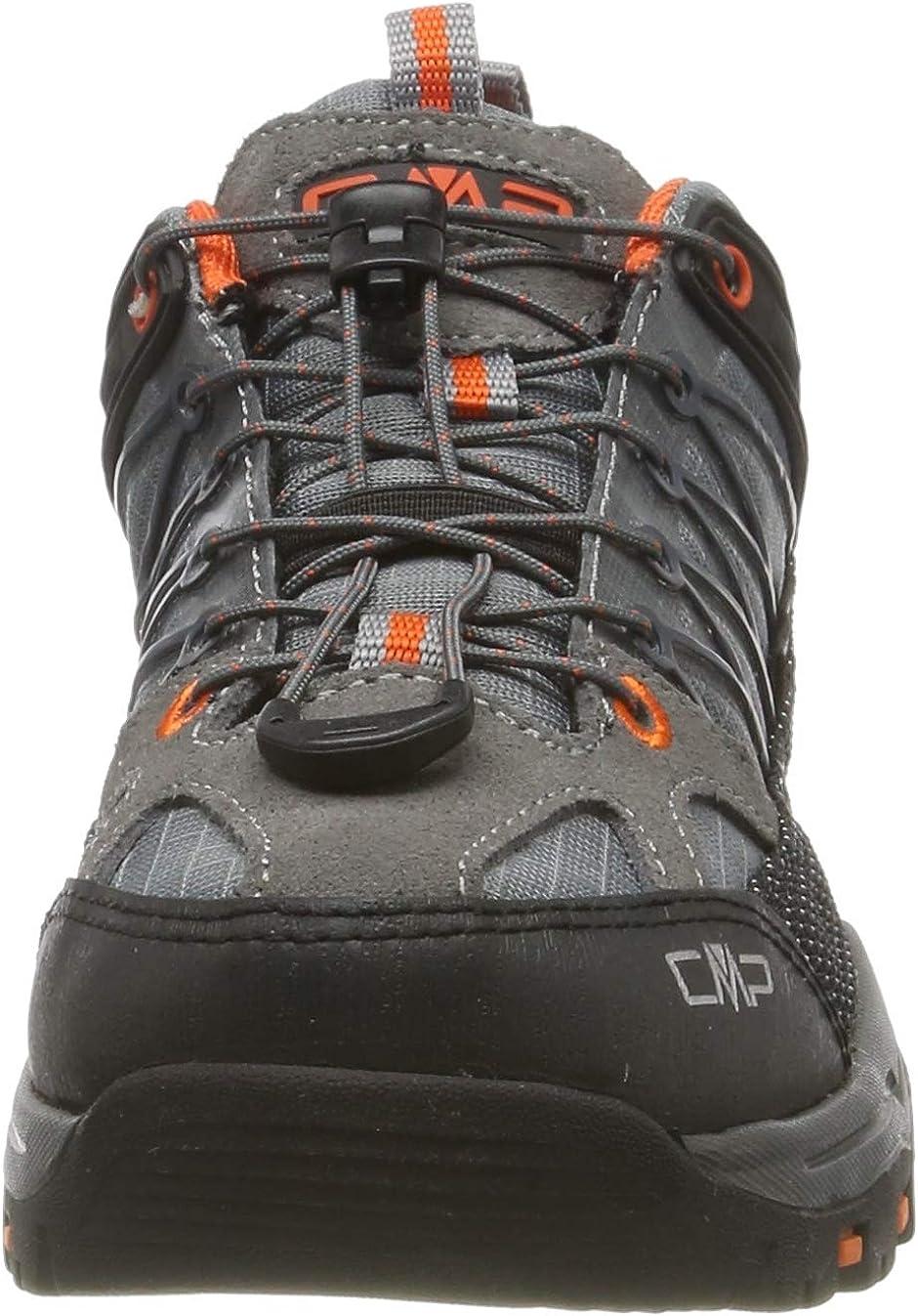 CMP Rigel Low Rise Hiking Shoes Grey Stone Orange 78uc