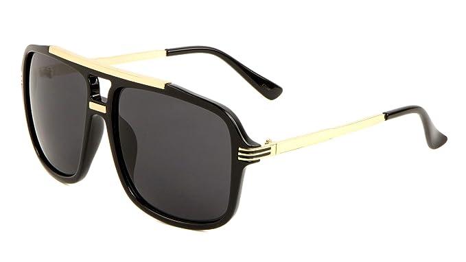 Amazon.com: Evidence - Gafas de sol de aviador (metal y ...