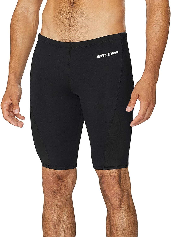 BALEAF Men's Athletic Durable Training Polyester Jammer Swimsuit