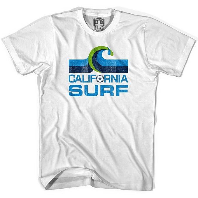 California Surf Vintage camiseta de fútbol gris gris small: Amazon.es: Ropa y accesorios