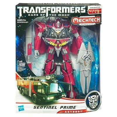 Transformers: Dark of the Moon - MechTech Leader - Sentinel Prime: Toys & Games