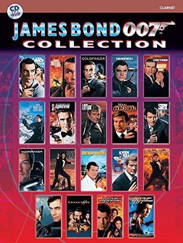 James Bond 007 Collection: Clarinet, Book & CD