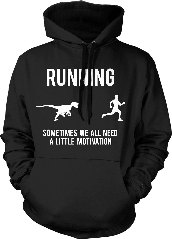 Running Motivation Sweater Funny Running T shirts Sarcasm Humor Run Novelty Hood Crazy Dog Tshirts