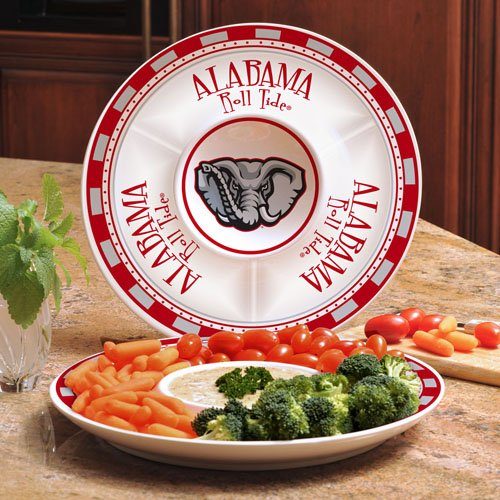 NCAA The University of Alabama Game Day 2 Chip n Dip, One Size, Multicolor Alabama Game Day Chip