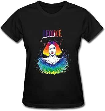 Duanfu Beyonce Women's Cotton Short Sleeve T-Shirt