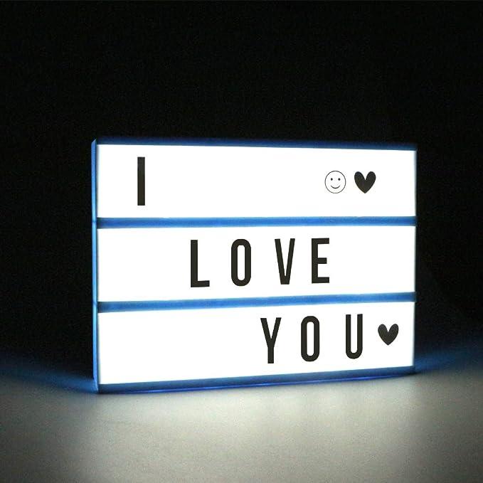 Amazon.com: Caja de luz de cine – Caja de luces de cine ...
