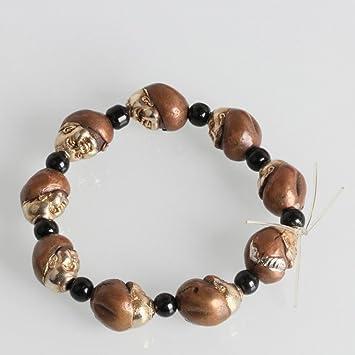 8bbefa888ae2 ZH Pulseras doradas de cobre hechas a mano Pulseras de hombre ...