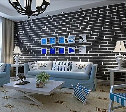 Xzzj Blanco puro papel de pared de ladrillo, estéreo ropa china de ingeniería de planta