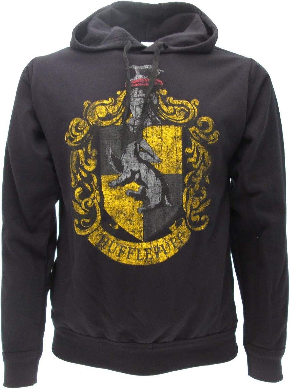 Sudadera con Capucha Hoodie Hufflepuff de Harry Potter - 100% Original y Oficial Warner Bros