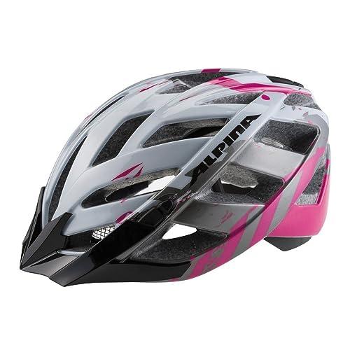 Alpina Fahrradhelm Alpina Panoma Tour - Gr.M (53-57) perlweiss/magenta - Radsport Helme