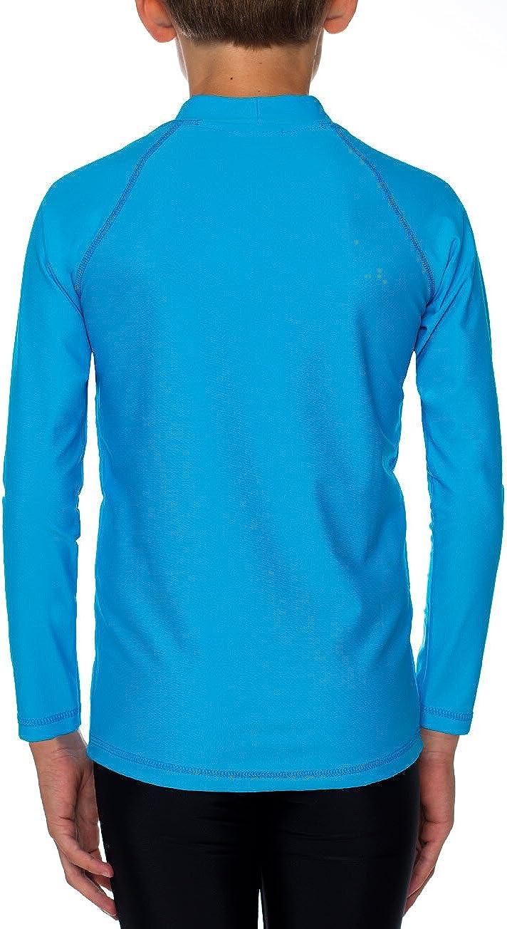 IQ-Company Maglietta con Protezione UV Bambino IQ 300 Youngster Maniche Lunghe Ocean