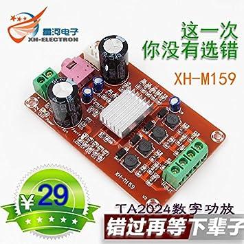 Amazon com: Bolsen 215W XH-M159 digital power amplifier board 12V