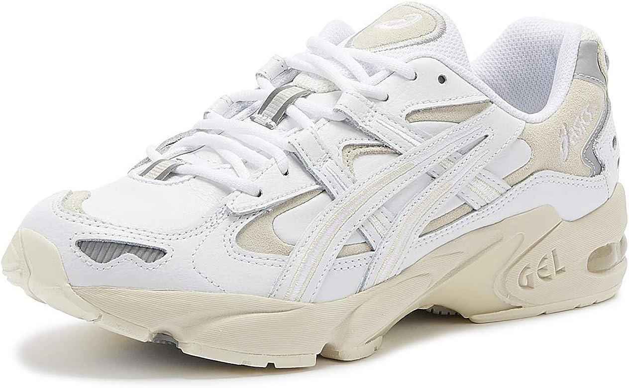 ASICS Gel-Kayano 5 OG Hombres Blanco Cuero Zapatillas-UK 6 / EU 40: Amazon.es: Zapatos y complementos
