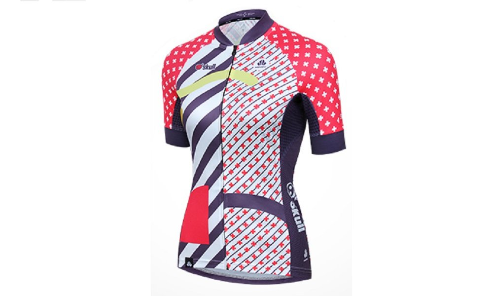 Lance Sobike Damen Rad-Trikots Radsport Bekleidung Radfahren Tragen Kurzarm-Dual