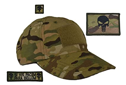 Amazon Usa Made Tactical Operator Cap With Punisher Skull