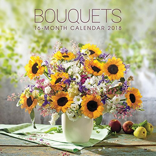 2018 Bouquets Wall Calendar for sale